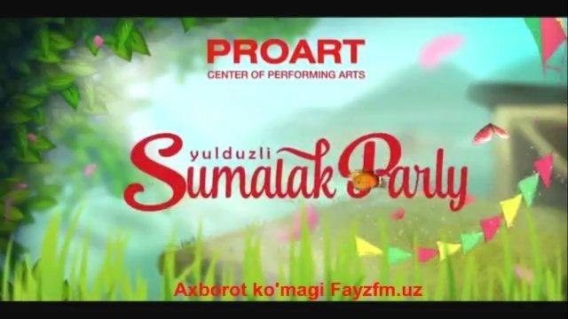 Afisha: PROART SUMALAK PARTY!