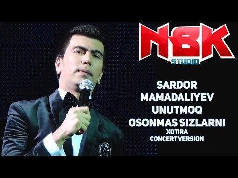 Sardor Mamadaliyev - Unutmoq osonmas sizlarni (Concert version)