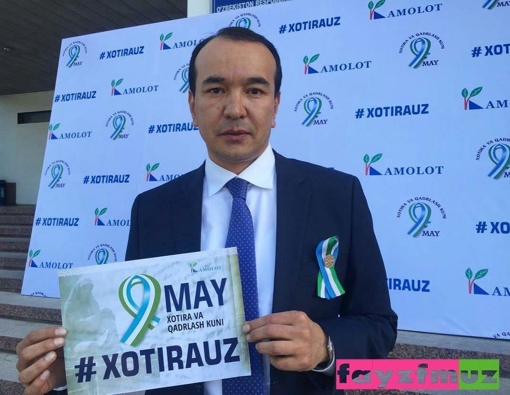 """9-may – """"Xotira va qadrlash"""" kuni munosabati bilan """"9-may"""" aksiyasiga start berildi."""