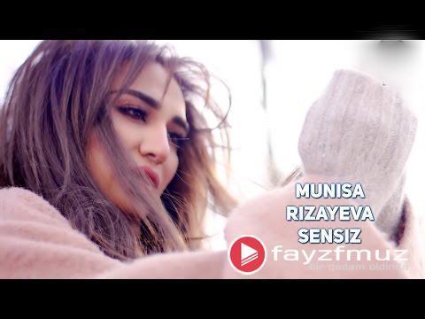 Munisa Rizayeva - Sensiz (Qo'shiq Matni, Lyrics, Тексты Песен)